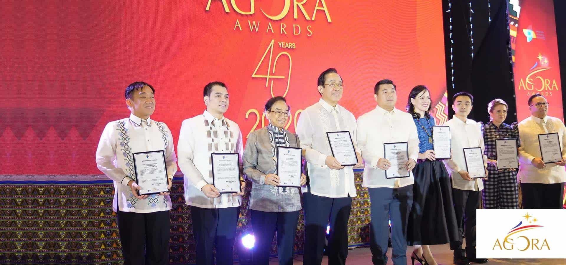 The Agora Awards on its 40th Year